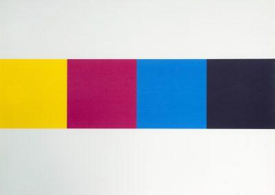 Rob Koningsbruggen - Vier kleurvlakken