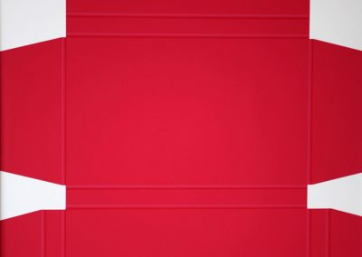 Lode Pemmelaar. Platte rode doos.