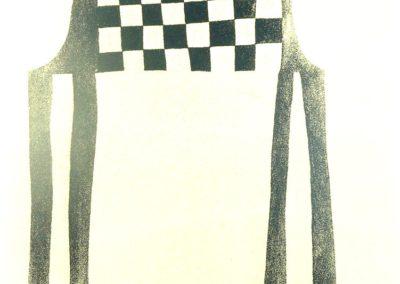 Klaas Gubbels - 'Stoel en schaakbord'