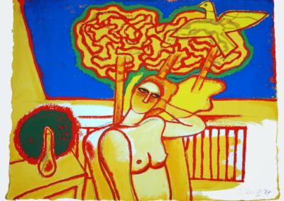 Corneille - Femme jaune.