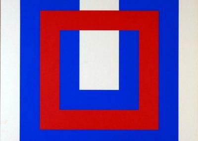 Bob Bonies - Compo rood-wit-blauw 1