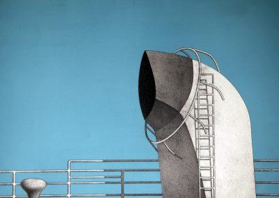 Marinus Fuit - Detail scheepsdek