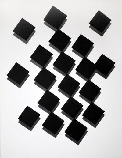 Willem Hussem - Compo zwart/grijs