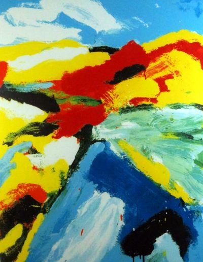 Jan Cremer - Blue mountain blue