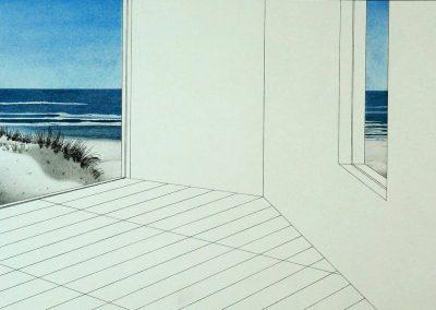 Marinus Fuit - Uitzicht op zee