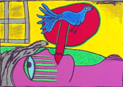 Corneille - Regard sur l'oiseau.