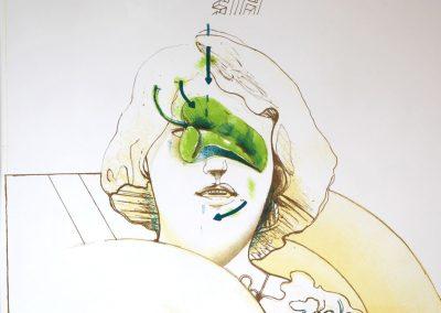Pat Andrea - 'Vrouwengezicht'