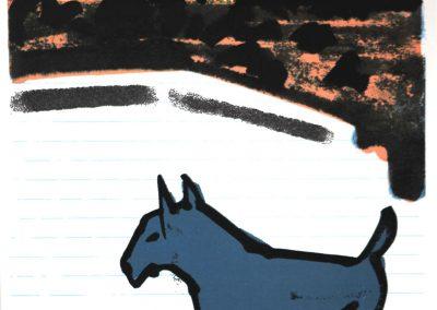 Peter Bes - Blauwe Hond