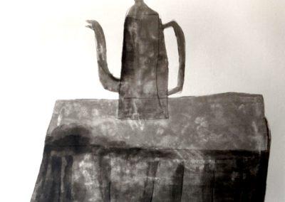 Klaas Gubbels - Tafel met koffiepot