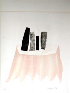 Klaas Gubbels - Tafel met vazen