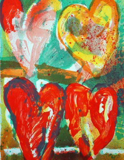 Jan Cremer - Rood-gele tulpen