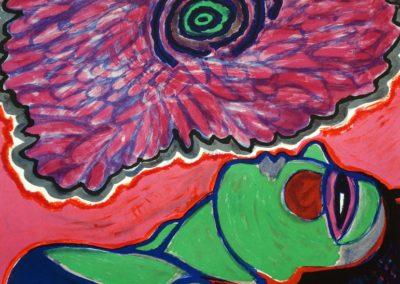 Corneille - 'Vrouw met klaproos'
