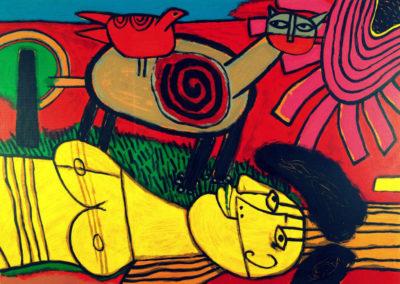 Corneille - La femme au soleil